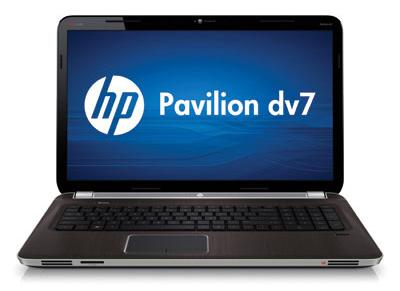 Ноутбук HP PAVILION dv7-6000er - спереди