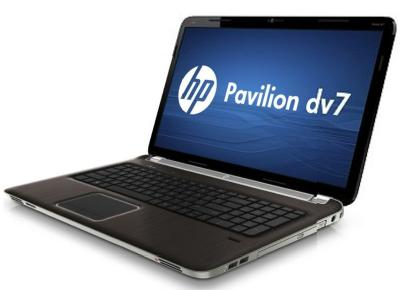 Ноутбук HP PAVILION dv7-6000er - сбоку