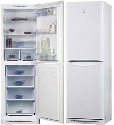 Холодильник с морозильником Indesit NBHA 180 - общий вид