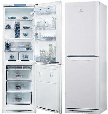 Холодильник с морозильником Indesit NBHA 20 - общий вид