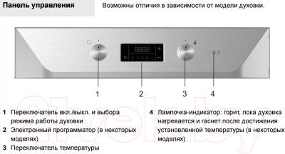 Электрический духовой шкаф Gorenje BO7349RW