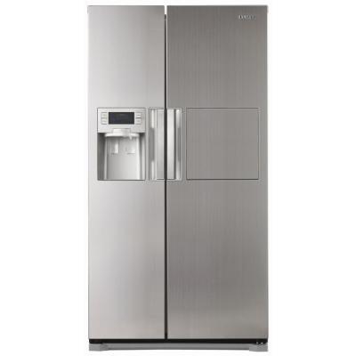Холодильник с морозильником Samsung RSH7ZNRS - Вид спереди
