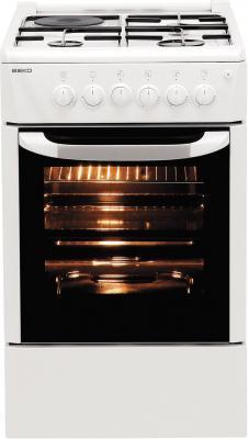 Кухонная плита Beko CS 52010 - вид спереди
