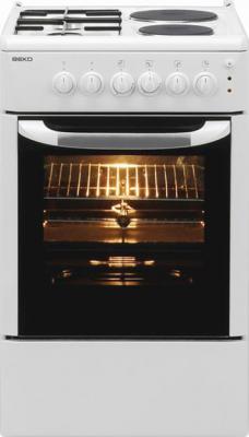 Кухонная плита Beko СS 53010 - вид спереди