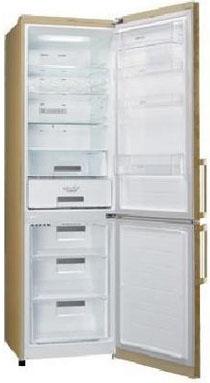 Холодильник с морозильником LG GA-B489BVTP - Общий вид