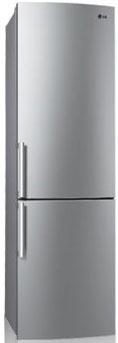 Холодильник с морозильником LG GA-B489BLCA - Вид спереди