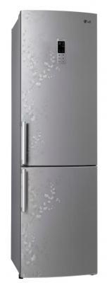 Холодильник с морозильником LG GA-B489BVSP - внешний вид