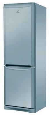 Холодильник с морозильником Indesit NBA 16 FNF S - общий вид