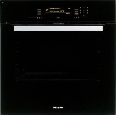 Электрический духовой шкаф Miele H 5681 BP BK - вид спереди