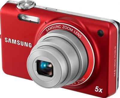 Компактный фотоаппарат Samsung ST65 (EC-ST65ZZBPRRU) Red - общий вид