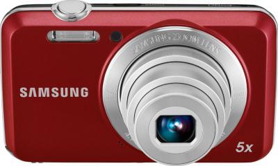 Компактный фотоаппарат Samsung ES80 (EC-ES80ZZBPRRU) Red - вид спереди