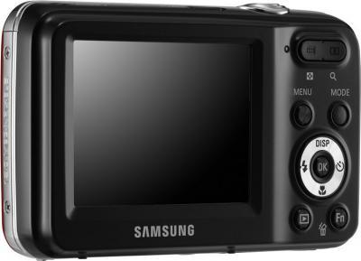 Компактный фотоаппарат Samsung ES80 (EC-ES80ZZBPRRU) Red - общий вид