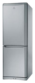 Холодильник с морозильником Indesit NBEA 18 FNF S - общий вид