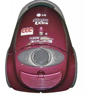Пылесос LG VC3049NT - вид спереди
