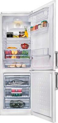 Холодильник с морозильником Beko CN332120 - общий вид