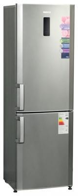 Холодильник с морозильником Beko CN332220X - общий вид