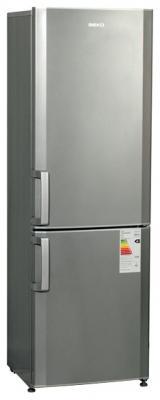 Холодильник с морозильником Beko CS334020S - вид спереди