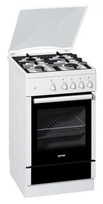 Кухонная плита Gorenje G51103AW - вид спереди