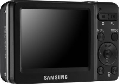 Компактный фотоаппарат Samsung ST30 (EC-ST30ZZBPBRU) Black - общий вид