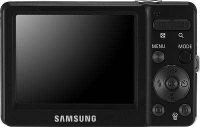 Компактный фотоаппарат Samsung ST30 (EC-ST30ZZBPBRU) Black - вид сзади