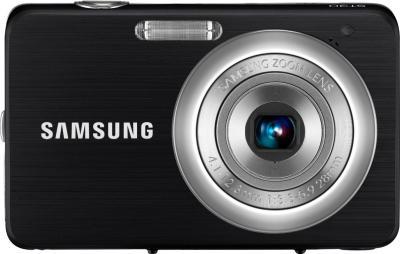 Компактный фотоаппарат Samsung ST30 (EC-ST30ZZBPBRU) Black - вид спереди