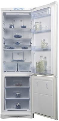 Холодильник с морозильником Indesit NBA 20 FNF - Общий вид