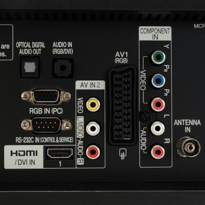 Телевизор LG 32LK330 - Вид сзади