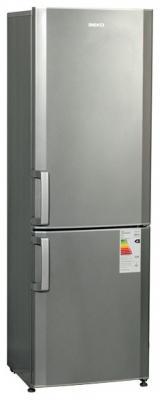 Холодильник с морозильником Beko CS338020S - вид спереди