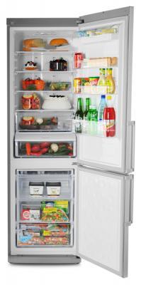 Холодильник с морозильником Samsung RL48RECTS1 - общий вид