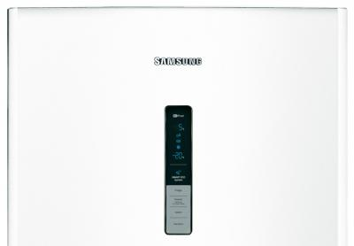 Холодильник с морозильником Samsung RL48RECSW1 - дисплей