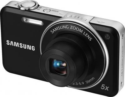 Компактный фотоаппарат Samsung ST95 (EC-ST95ZZBPBRU) Black - общий вид