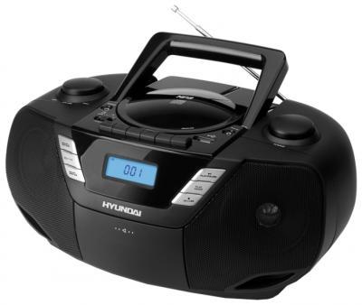Магнитола Hyundai H-1443 Black - вид спереди