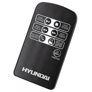Магнитола Hyundai H-1416 Black - пульт управления