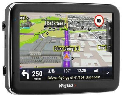 GPS навигатор Wayteq x990 Aura - общий вид