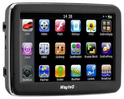 GPS навигатор Wayteq x960BT-HD - общий вид