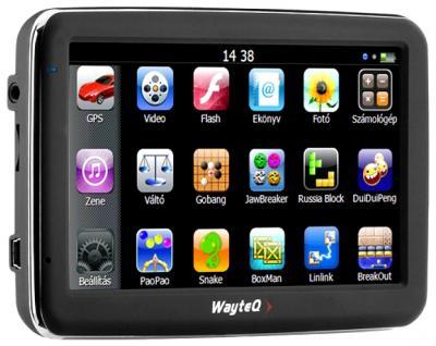 GPS навигатор Wayteq x950-HD - общий вид