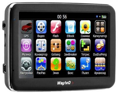 GPS навигатор Wayteq x850 - общий вид