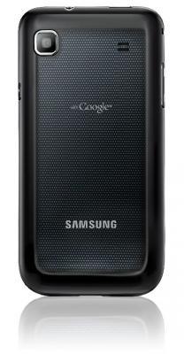Смартфон Samsung I9000 Galaxy S Metallic Black (GT-I9000 HKYSER) - задняя панель