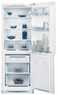 Холодильник с морозильником Indesit NBA 16 FNF - общий вид