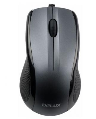 Мышь Delux DLM-388BU - общий вид