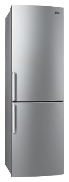 Холодильник с морозильником LG GA-B429BLCA - общий вид
