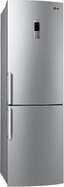 Холодильник с морозильником LG GA-B429BLQA - общий вид