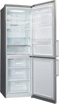 Холодильник с морозильником LG GA-B429BLQA - внутренний вид