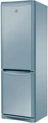 Холодильник с морозильником Indesit NBA 20 S - Вид спереди