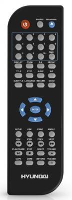Dvd-плеер Hyundai H-DVD5091 - пульт управления