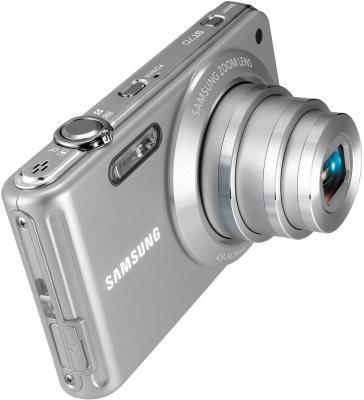Компактный фотоаппарат Samsung ST70 (EC-ST70ZBPS) Silver - общий вид