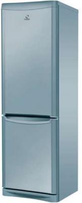 Холодильник с морозильником Indesit NBHA 20 NX - Вид спереди