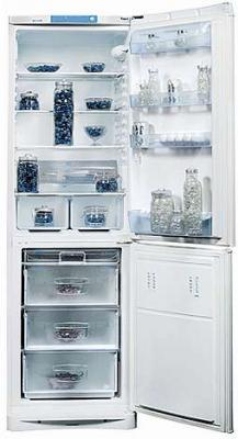 Холодильник с морозильником Indesit NBHA 20 NX - Общий вид