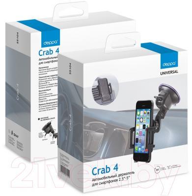 Держатель для портативных устройств Deppa Crab 4 / 55104