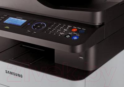 МФУ Samsung CLX-6260FR - элементы управления